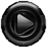 Poweramp skin Black Glow3.10 [Paid]
