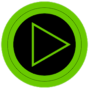 Poweramp skin TRON GREEN3.04 [Paid]