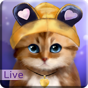 Toffee Cute Kitty Live Wallpaper1.03 [Pro]