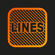 iOS Lines - Neon icon Pack