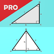 Trigonometry Calculator ( Triangle ) - PRO