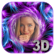 3D Art Photo Frame Landscape
