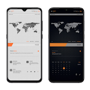 TECHDOTS Theme for KLWP1.0.2 (Paid)