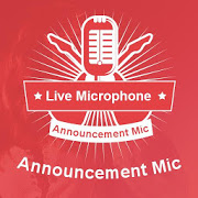 Microphone Mic Announcer