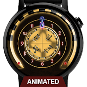 Watch Face: Chamber of Anubis - Wear OS SMartwatch