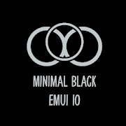 Minimal Black EMUI 10 Theme for Huawei/Honor2.0 (Paid)