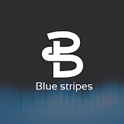 Blue Stripes Dark EMUI 9.1 / 10 Theme for Huawei4.0 [Paid]