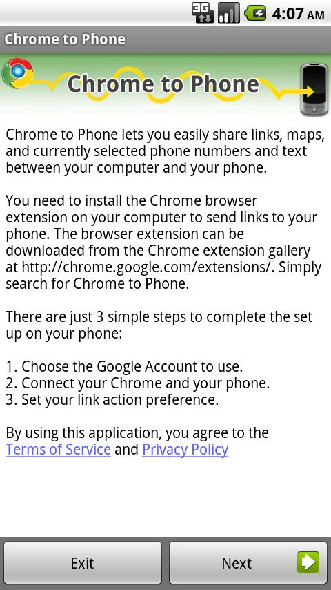 google chrome app download for android 2.3