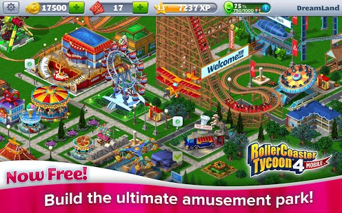 RollerCoaster Tycoon® 4 Mobile 1 13 5 [Mod Money] apk (com
