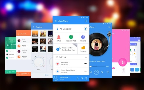 Music Player 1 2 0 apk (coocent music player pure equalizer