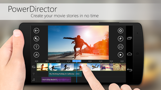 PowerDirector Video Editor App 4 11 1 [Unlocked + AOSP] apk (com