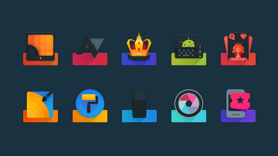 Ombre-Icon Pack 4 3 [Paid] apk (best black icons ddt) free