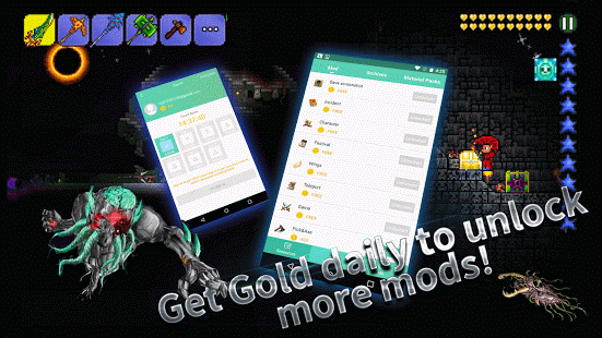 Launcher for Terraria (Mods) 1 3 2845 apk (com iplay assistant