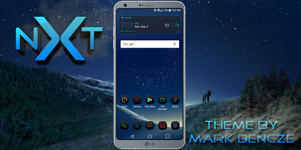 nXt Theme For LG G6 1 01 apk (com lge theme nxt) free