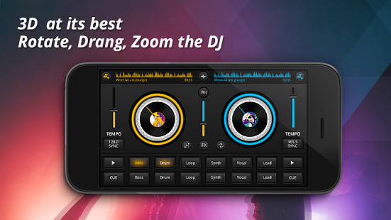 free download dj mixer for mobile