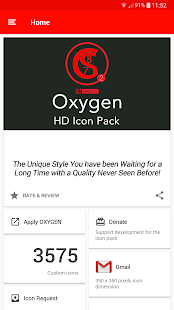 ONE PLUS OXYGEN ICON PACK HD 13 0 [Patched] apk (com cris87