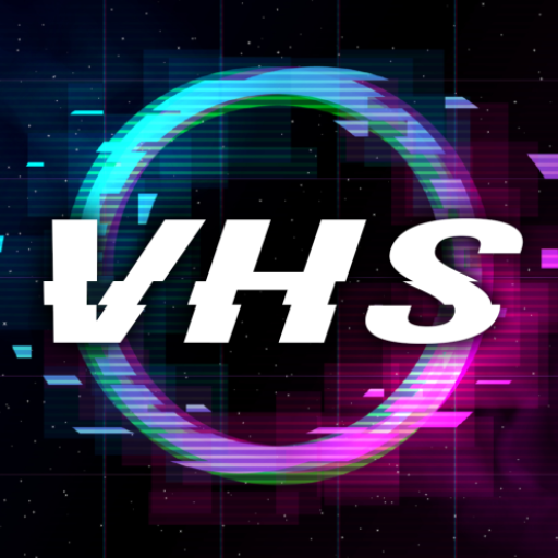 VHS Cam :3d Glitch Photo & Video Effects Camcorder