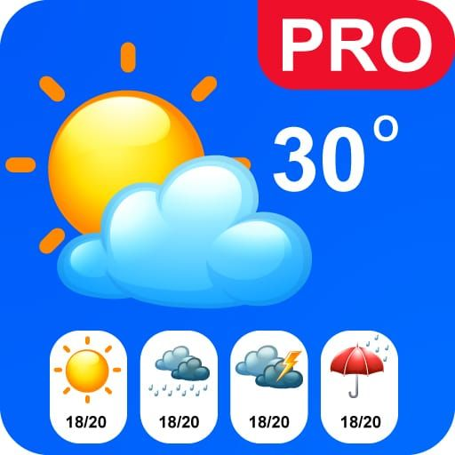 Live Weather pro- Get Real Live Data