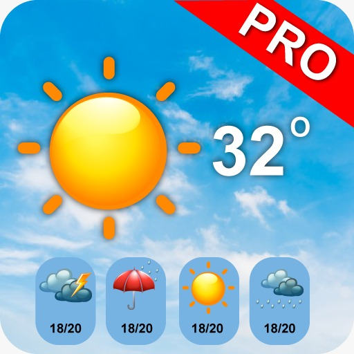 Accurate weather pro-get real live data