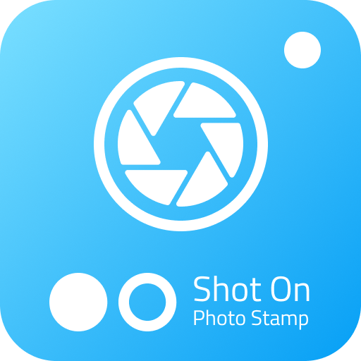 Shot on - Photo stamp