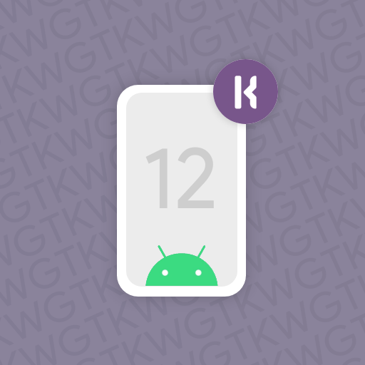 Android 12 U for kwgt